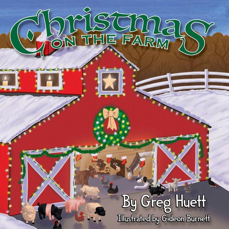 CHRISTMAS ON THE FARM KIDS BOOK
