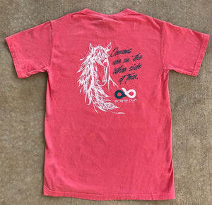 Arena Bum Dream Horse Tee Shirt Watermelon