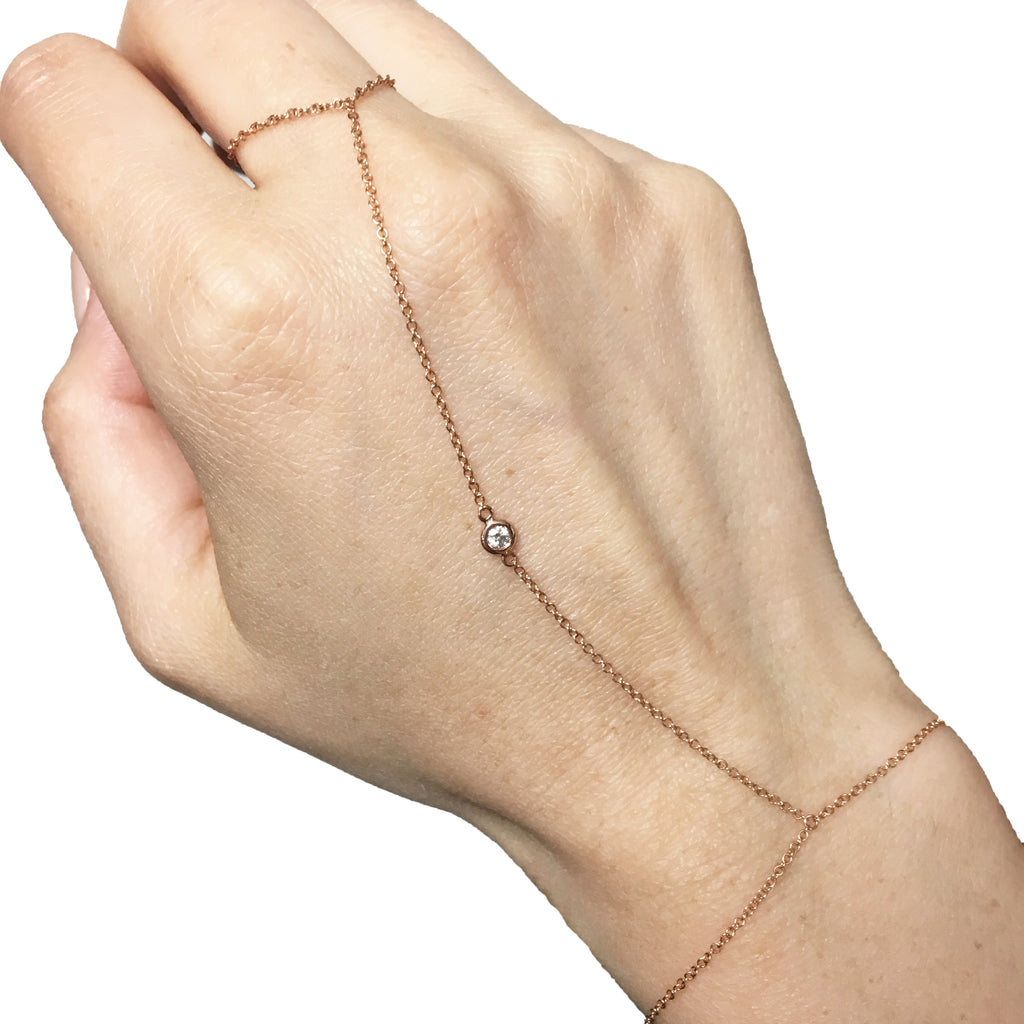 1 Diamond Hand Chain