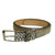 Exotic Natural Snakeskin Skinny Belt from the exclusive Coly collection. Handmade in Los Angeles.