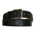 Exotic Black Snakeskin Wide Belt from the exclusive Coly collection. Handmade in Los Angeles.