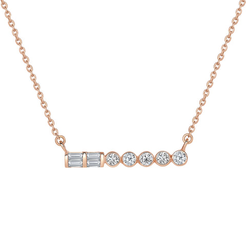 Cleo Diamond Necklace
