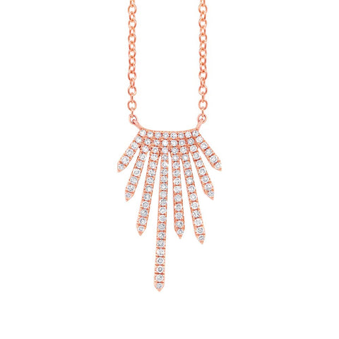 Frill Diamond Necklace