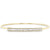 Baguette Diamond Latch Bracelet