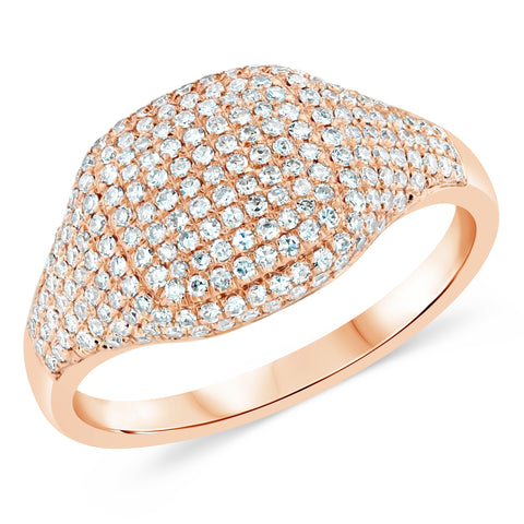 Lux Diamond Pinky Ring
