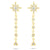 Star Drop Diamond Earring