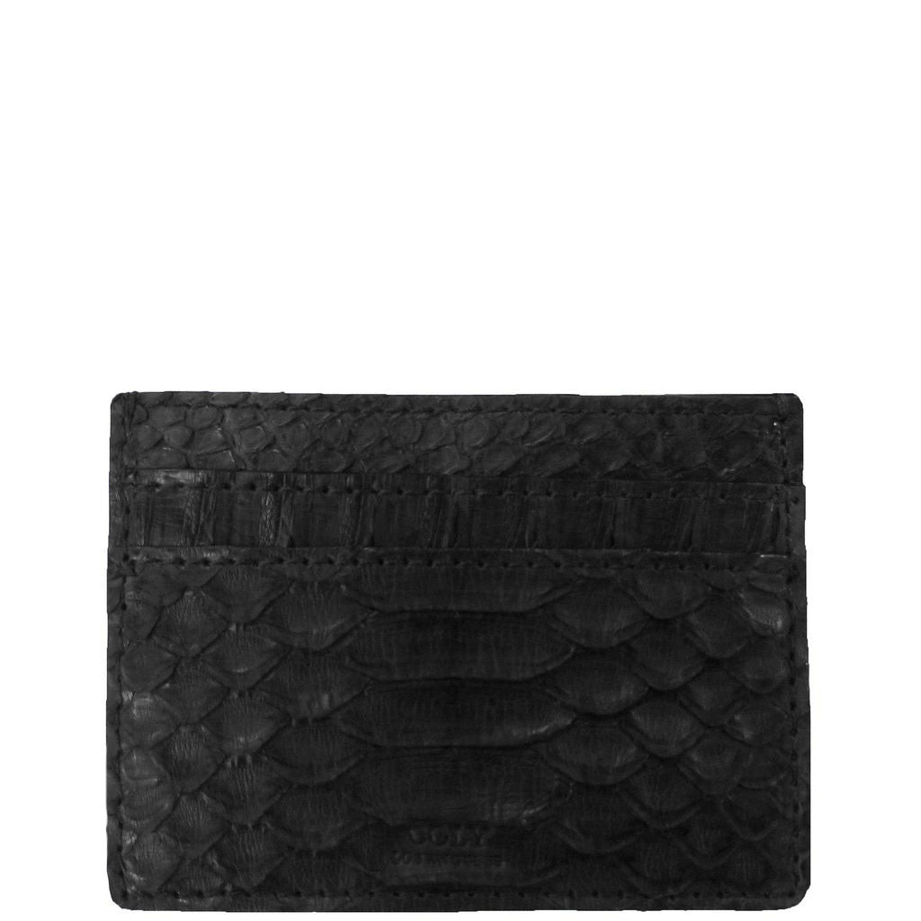 Credit Card Holder in Snakeskin