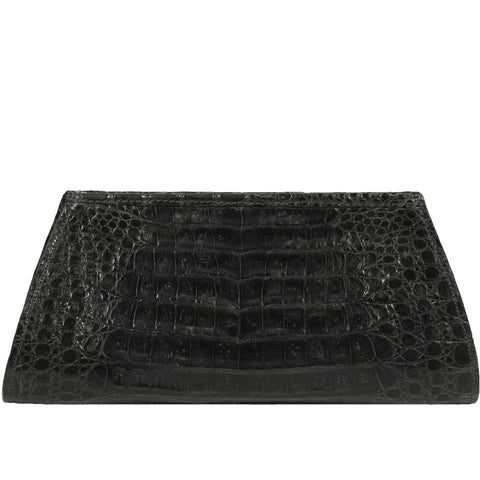 Evening Clutch in Crocodile