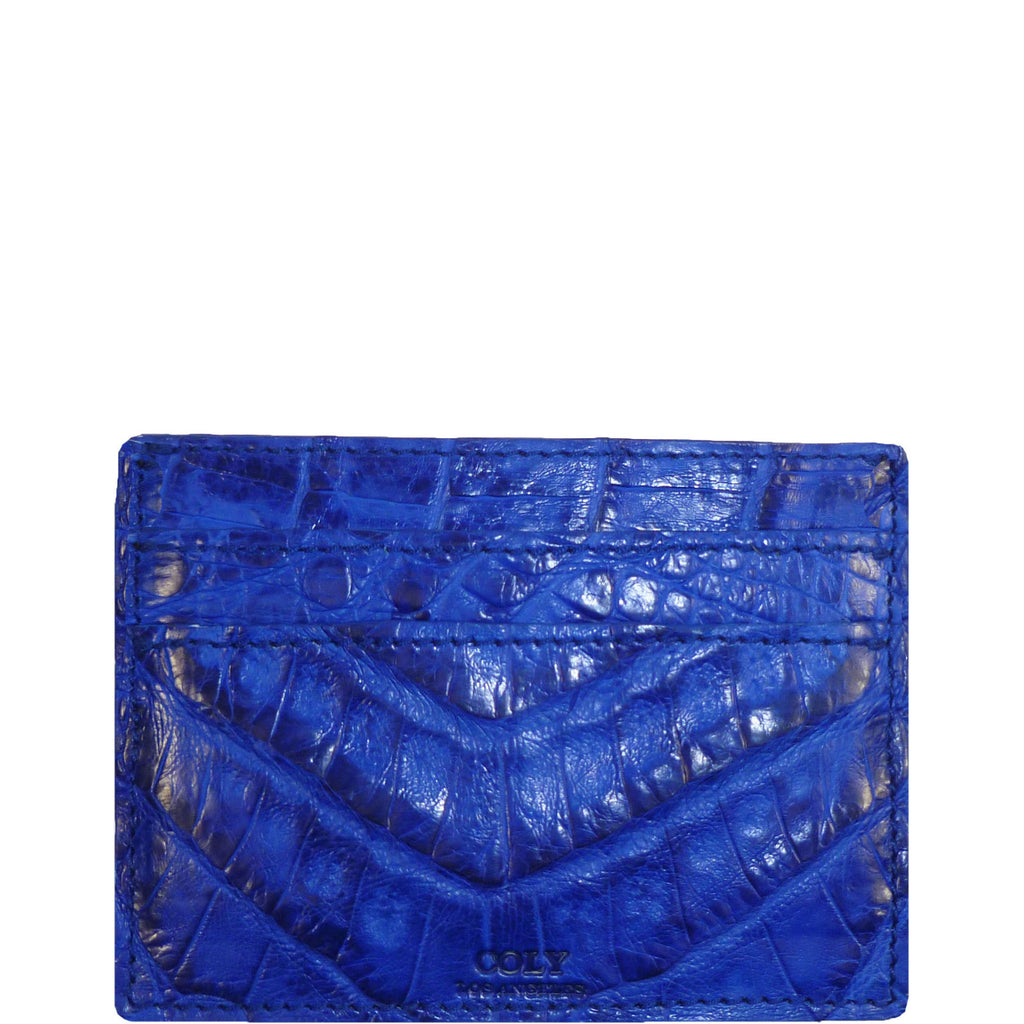 Credit Card Holder in Crocodile