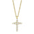 Ava Cross Diamond Necklace
