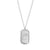 Mini Dog Tag Initial Necklace
