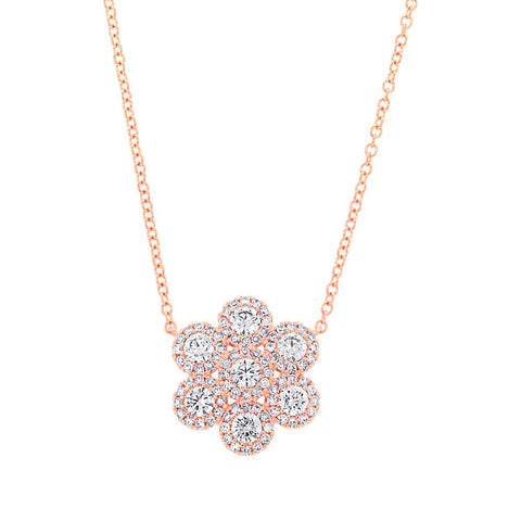 Daisy Diamond Necklace