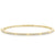 Mini Spike Diamond  Bangle