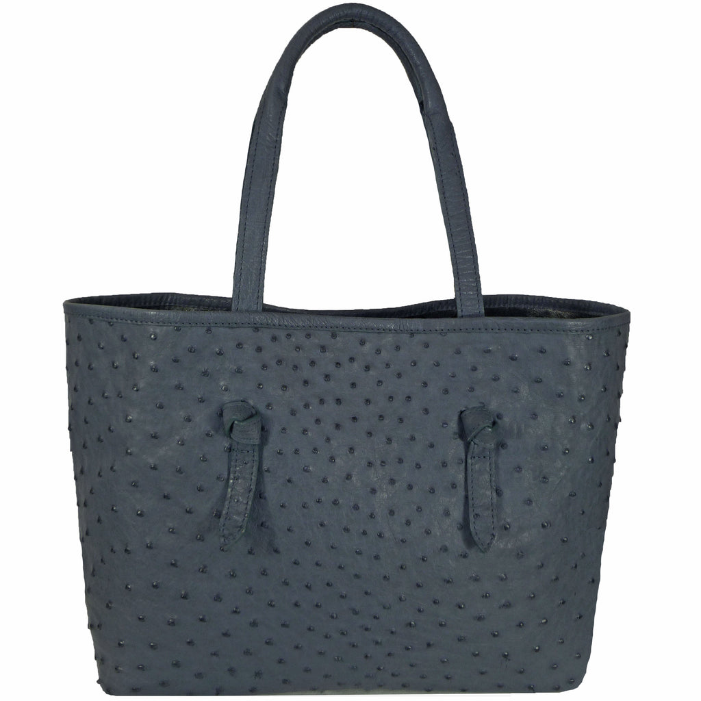 Knotted Tote in Ostrich