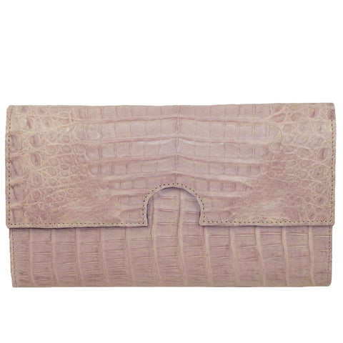 Coly Clutch in Crocodile