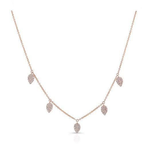 Droplets Diamond Necklace