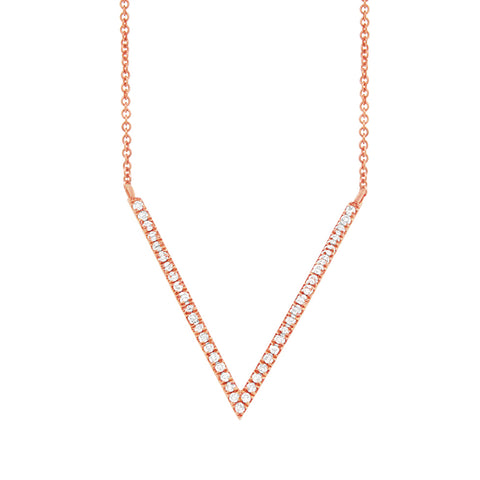 Pave Diamond Royal Necklace