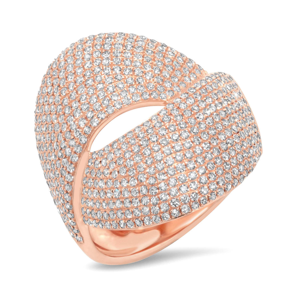 Queen's Knot Diamond Ring