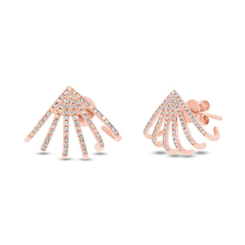 Spider Diamond Earrings