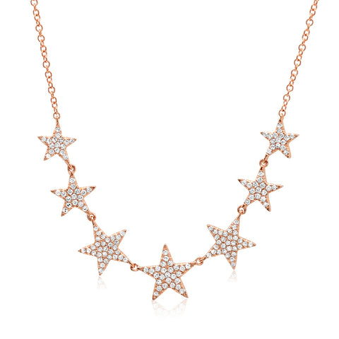 7 Lucky Star Necklace