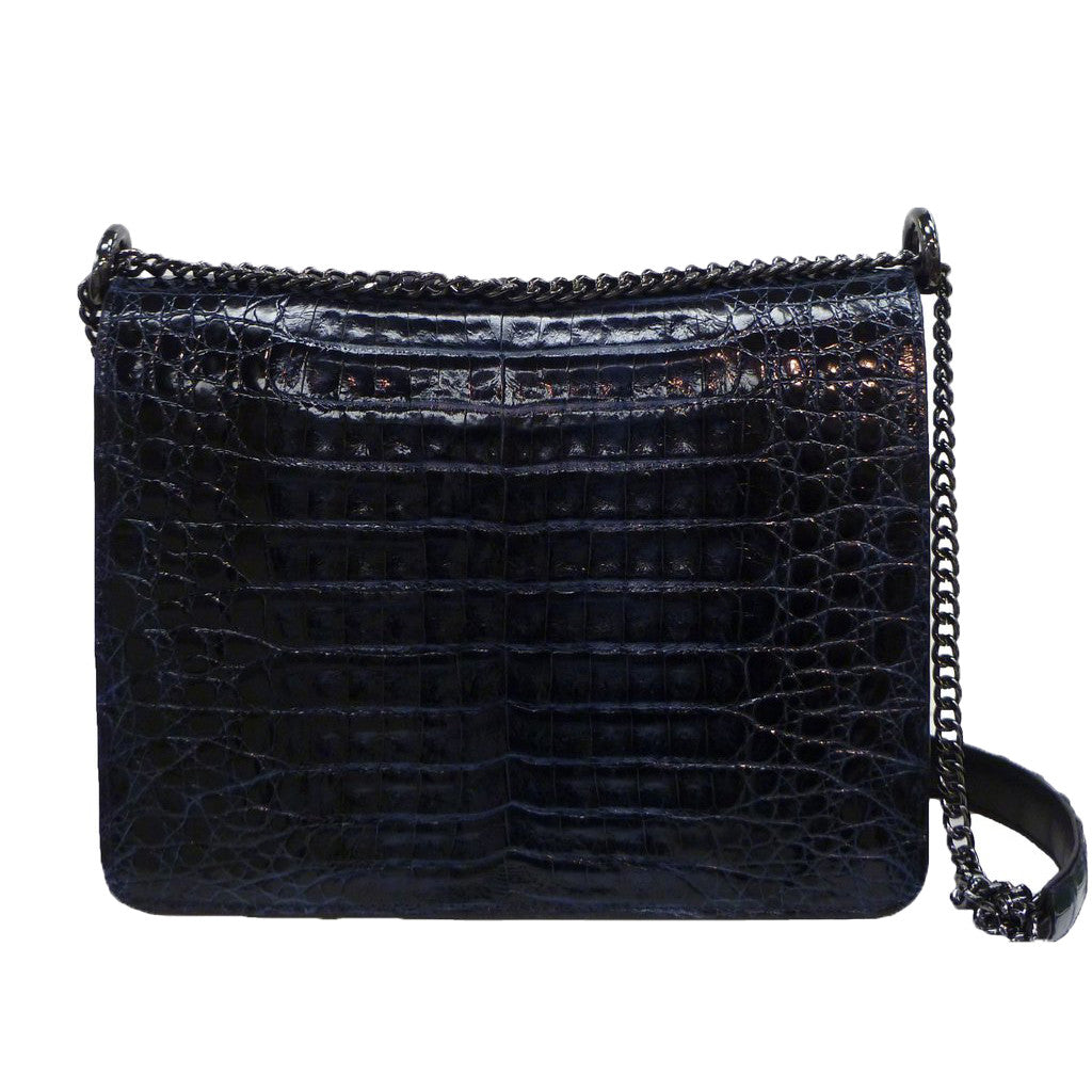 Stella Chain Bag in Crocodile