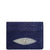 "Exotic Electric Blue Stingray Credit Card Holder from the exclusive Coly collection features 4 credit card slots, and an interior cash slot! Dimensions are 4""W x 3""H. Handmade in Los Angeles."