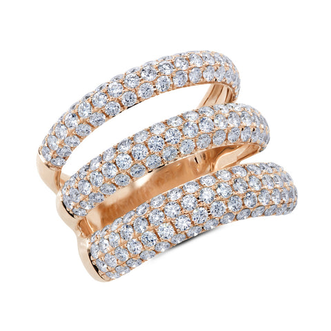 Amelia Triple Diamond Ring