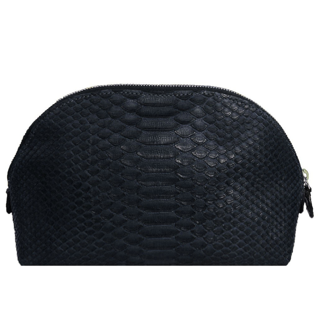 Snakeskin Travel Cosmetic Bag