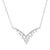 Chevron Twinkle Diamond Necklace