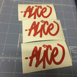 A Custom Tag Name Sticker Pack (5-Pack)