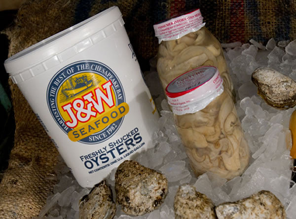 Buy Fresh Shucked Oysters Online | Shipped Overnight | Crabville