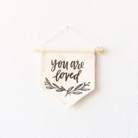 Canvas Wall Hanging - You Are Loved