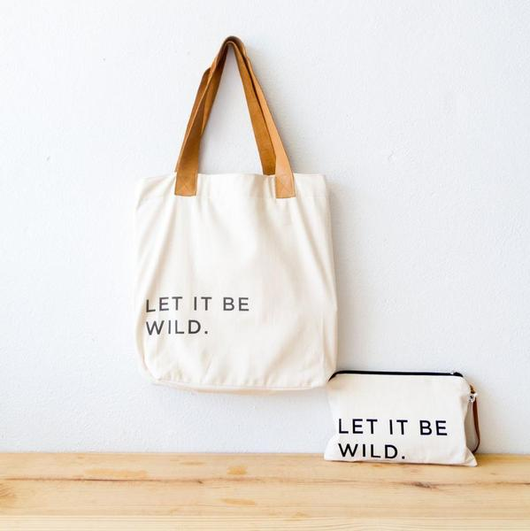 Let It Be Wild Pouch