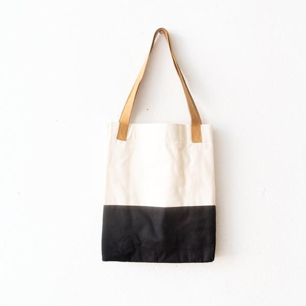 Canvas Tote - Color Block