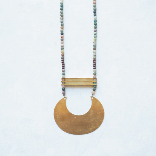Sunrise Statement Necklace
