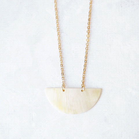 Ivory Moon Necklace