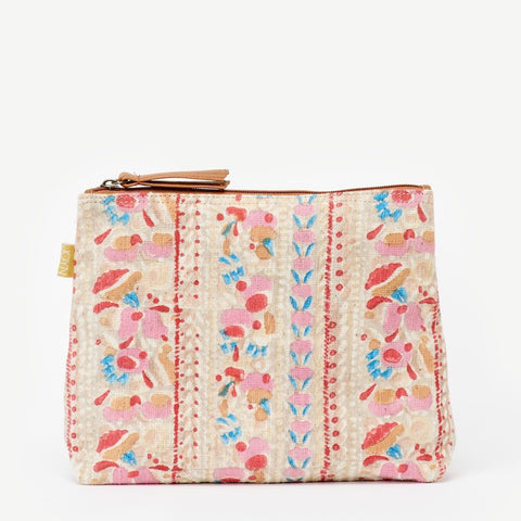 Large Shweta Pouch - Painted Floral