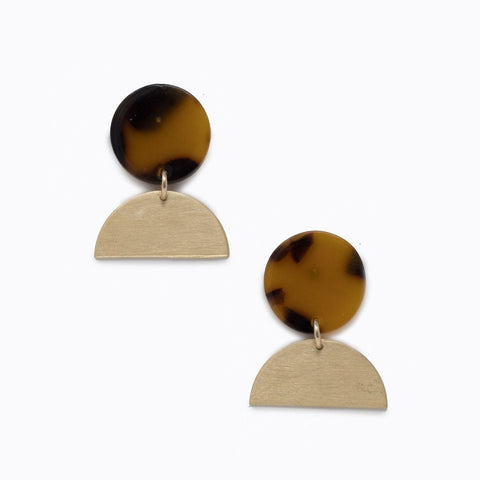 Cleo Tortoise Earrings