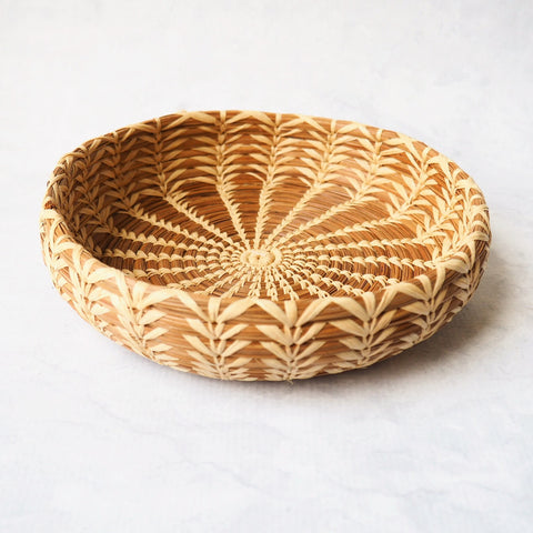 Pine Needle Catchall Basket
