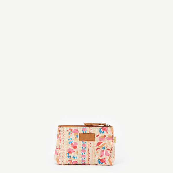 Small Shweta Pouch - Painted Floral
