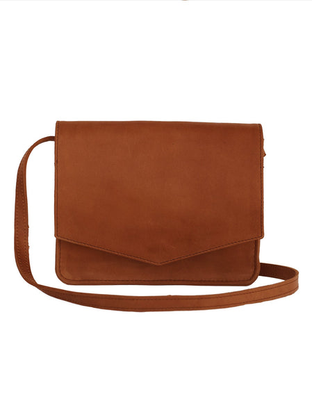 Tigist Crossbody Bag - Chestnut