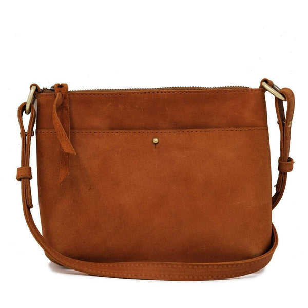 Emnet Mini Crossbody - Chestnut