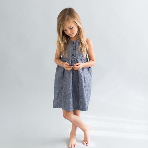 Fair + Little Linen Treasure Hunter Dress