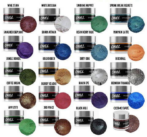 Chill Pigments - 20 Colores