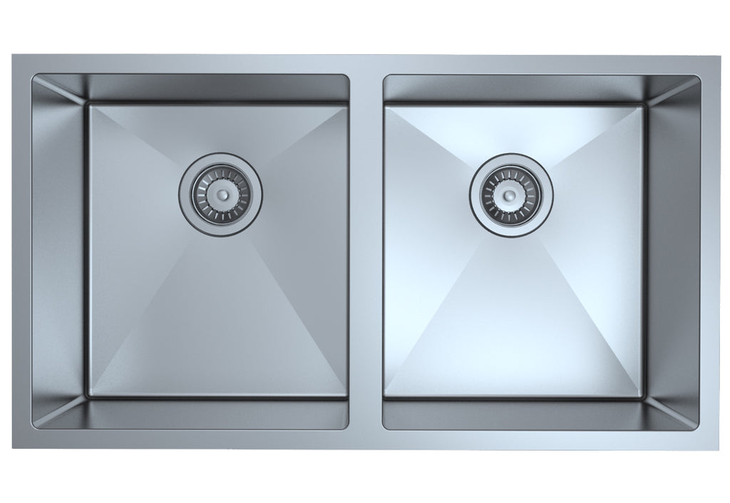 Fregadero doble undermount Stainless Steel