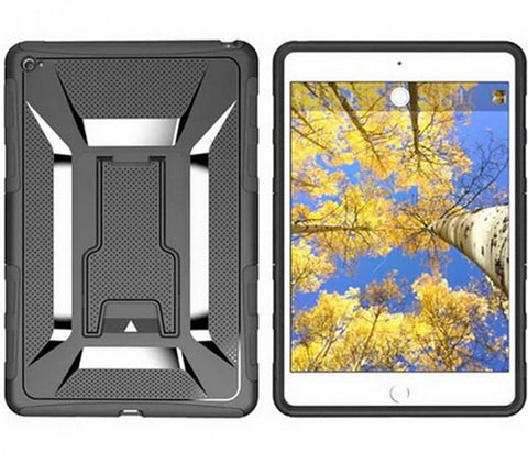 Apple iPad Mini 4 Armor Hybrid Kickstand Case (Black)