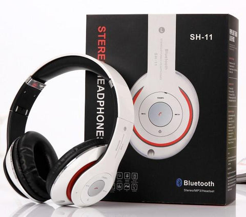 HD Bluetooth Stereo Headset (White)