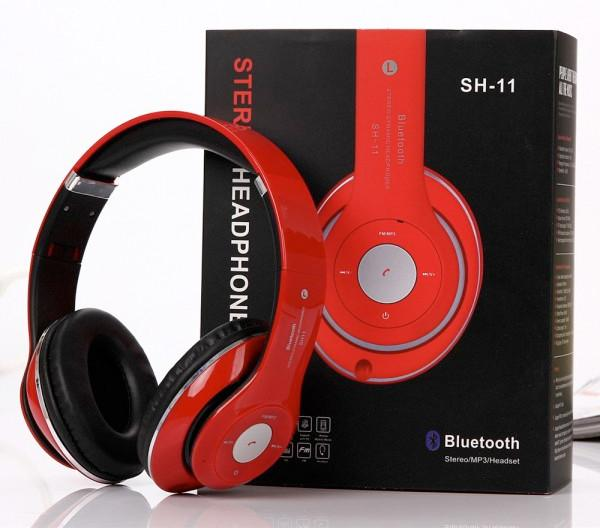 HD Bluetooth Stereo Headset (Red)