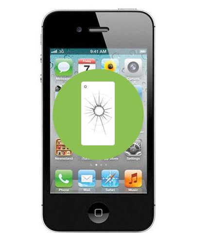 iPhone 4 <br/>Back Glass Replacement - Cary Grove Computer Repair