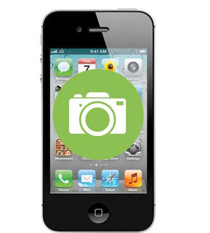 iPhone 4 <br/>Camera Repair - Cary Grove Computer Repair